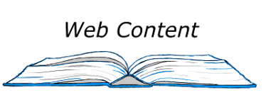 I write web content